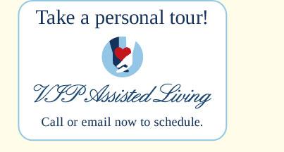 take a personal tour